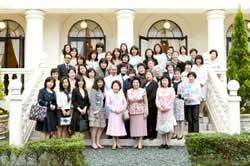 今田美奈子先生と集合写真